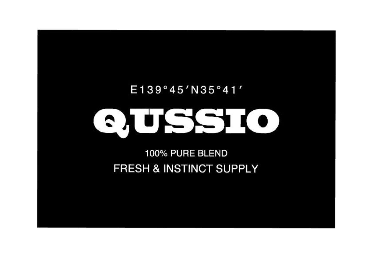 QUSSIO ロゴ